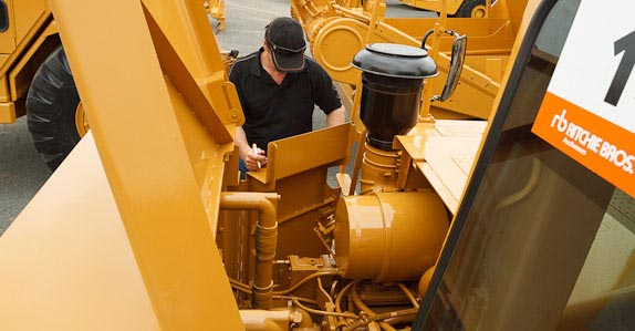 Conduct a thorough inspection before you buy used equipment